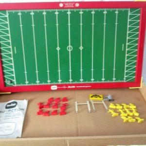 A great Football Game Working all parts included with instructions in original box Man cave toy collectible mid century