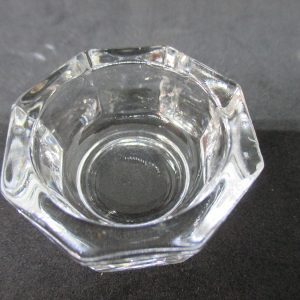 Antique Individual Open Salt Dip Cellar ca 1880 Collectible display tv movie prop wedding dining home kitchen decor bridal shower glass
