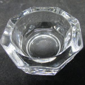 Antique Individual Open Salt Dip Cellar ca 1890 Collectible display tv movie prop wedding dining home kitchen decor bridal shower crystal