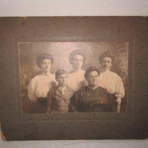 Antique Picture Cabinet Photo Instant ancestors