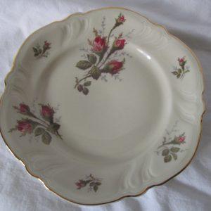 Antique Rosenthal Kronach Germany Victoria Park Lane type pattern Ivory Dessert or Luncheon Plate