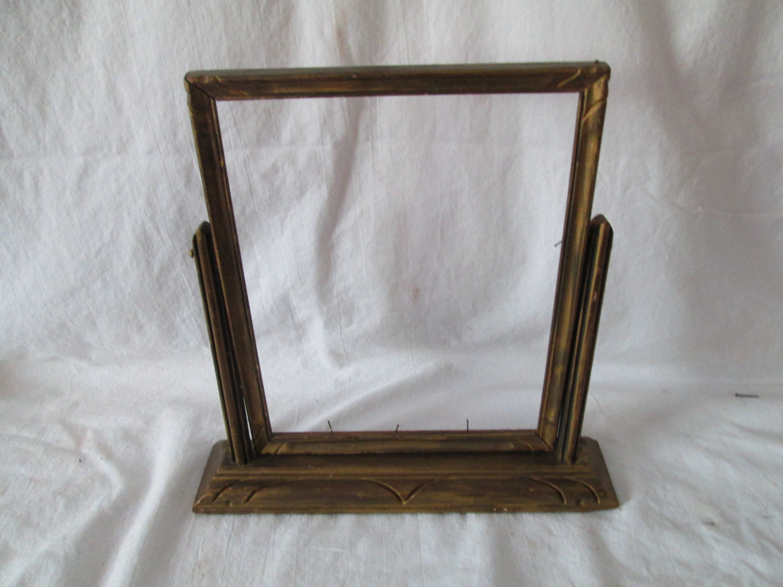 Antique Wooden Frame on Stand Swings Art Deco Pattern | Carol\'s True ...