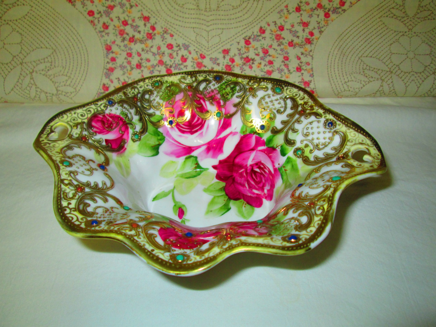 Rose Pattern China Custom Decorating