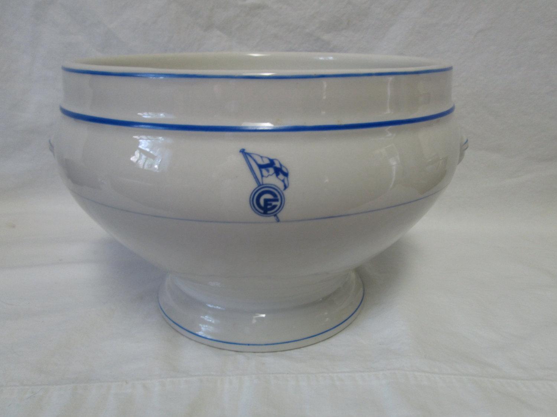 Fantastic Giant French Bowl Tureen Serving Bowl Mixing Bowl ...
