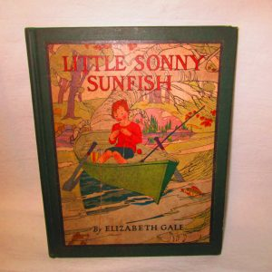 First Edition Little Sonny Sunfish 1923 Childresns book Elizabeth Gale Very Nice condition Illustrated Color pics