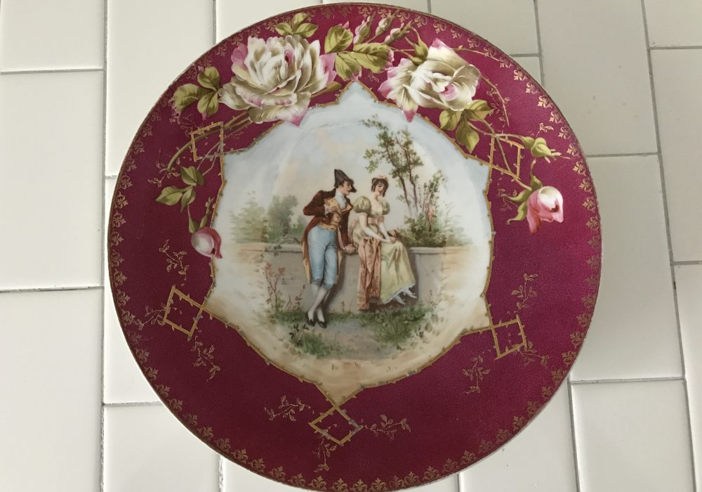 Antique Plates & Antique Plates | Carol\u0027s True Vintage and Antiques