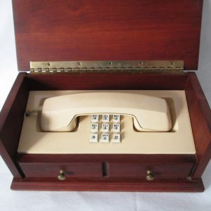 Looks Like a Jewelry Box Hidden Secret Phone Clean Good Working Condition