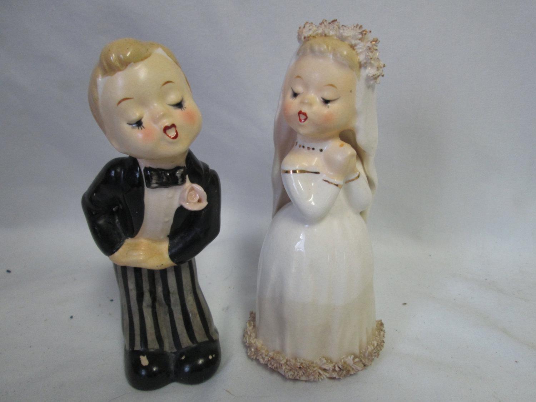 Vintage bride figurine