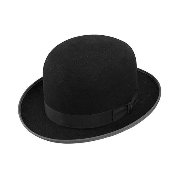 aec57f70d2aaa7 Vintage Derby Bowler Stetson 7 Men's hat New old stock original box Custom  Hats of Quality