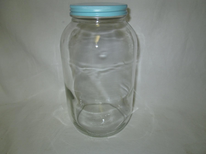 Vintage Glass Kitchen Storage Jar Bottle Canister Duraglas
