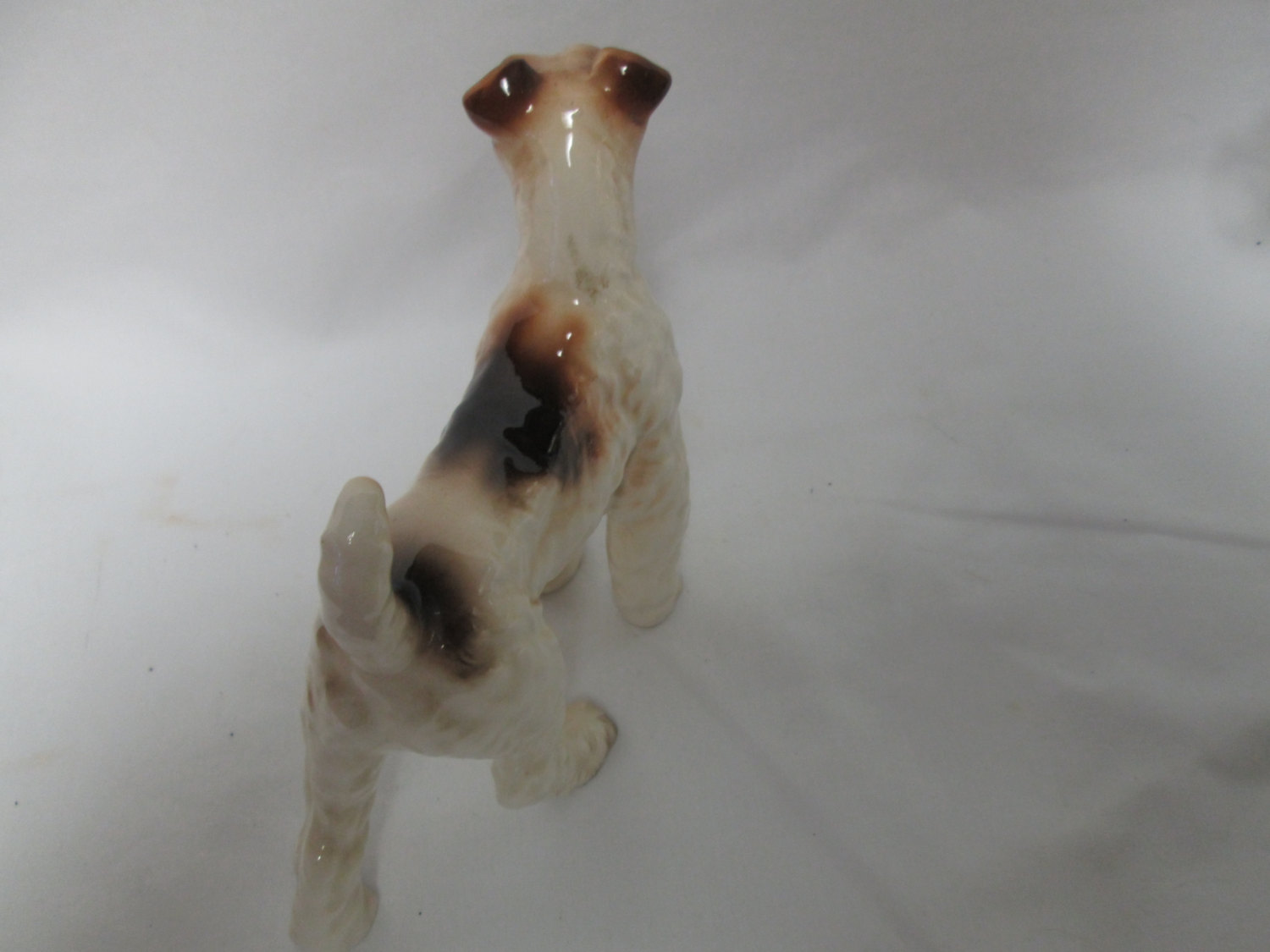 Vintage Large Dog figurine fine china Japan Mid Century 3 1/2 ...