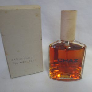 Vintage Original Chaz for men Cologne 4 oz tester Spray Chaz 1960's cologne New old stock collectible display vanity tv movie prop