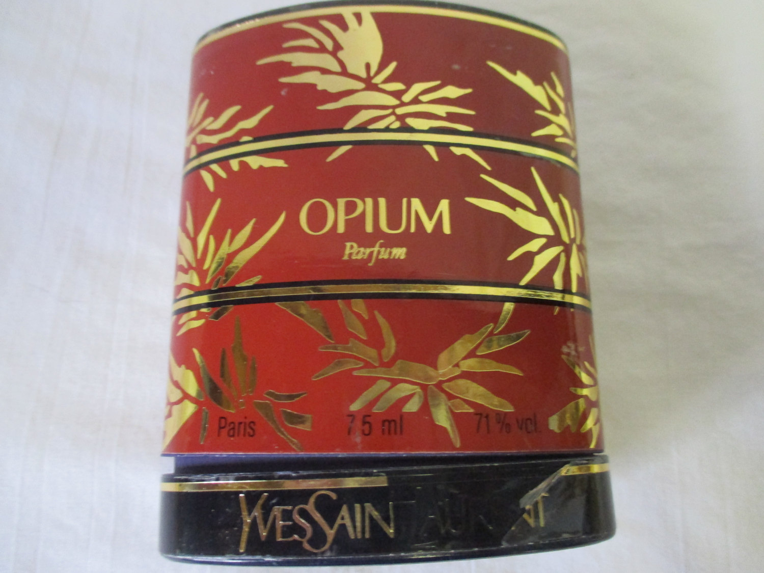 Vintage RARE OPIUM PARFUM sealed Yves Saint Laurent 7.5ml 1/4oz New Old  Stock
