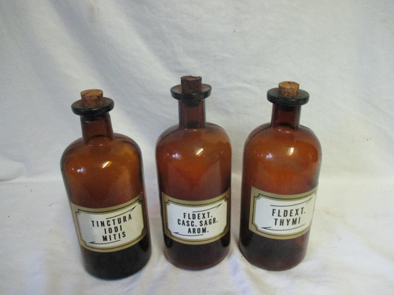 Antique Apothecary Pharmacy Medical Pharmaceutical
