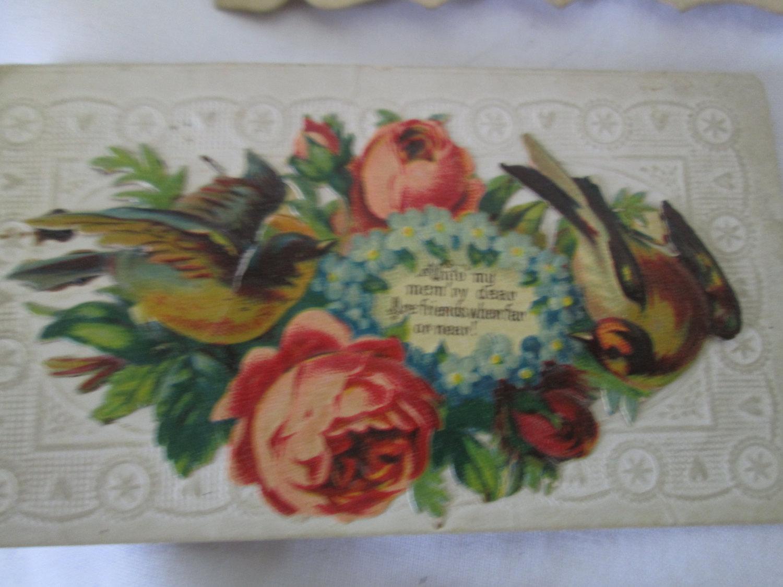 Antique greeting cards valentines miniature victorian pieces lot of antique greeting cards valentines miniature victorian pieces lot of 18 pieces m4hsunfo