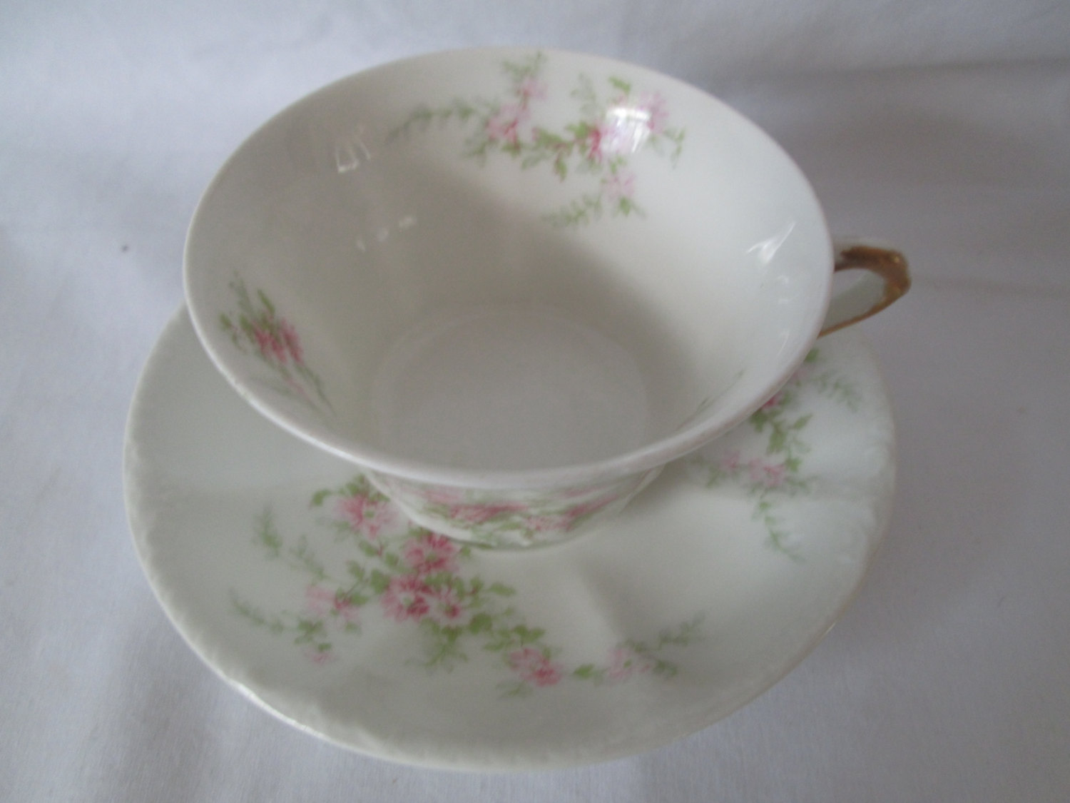 Beautiful Vintage Tea Cup And Saucer Fine Bone China Theadore