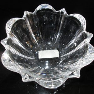 Beautiful Vintage Unused Mikasa Crystal bowl Austria Beautiful cut crystal with original label Austrian Crystal Center bowl home decor