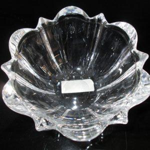 Beautiful Vintage Unused Mikasa Crystal bowl Austria Beautiful cut crystal with original label Austrian Crystal Center bowl home decor