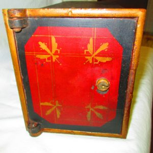 Fantastic Antique Wall Safe Designed to be built into the wall