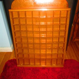 Fantastic Large Glass Front Wooden Wall Hanging Shelf Display Box Shadow Box