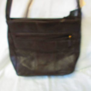 Fantastic Unused New old stock Brown Vittoria Italy Leather Hand bag shoulder bag with tags