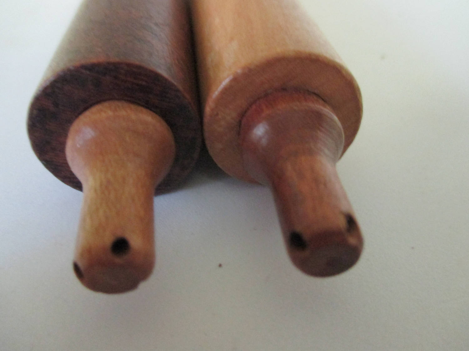 Mid Century Rolling pin Salt and Pepper shakers wooden cottage collectible display farmhouse country Unique