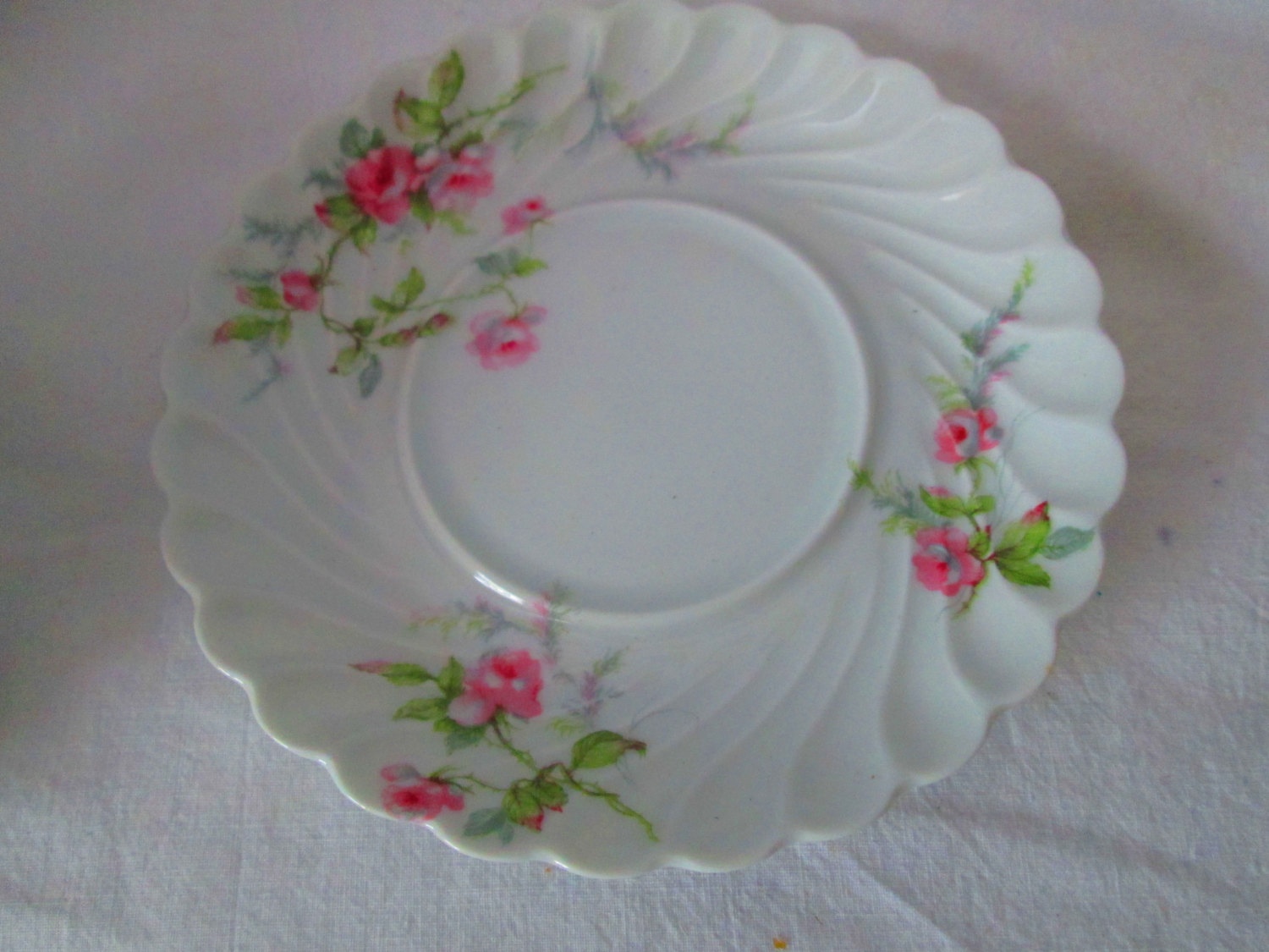 Stunning Haviland Limoges Fine Bone China Tea Cup And Saucer Pink