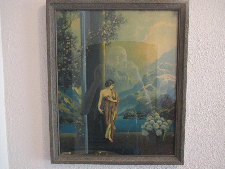 Vintage Art Deco Art Nouveau Early R. Atkinson Fox Lithograph Print ...