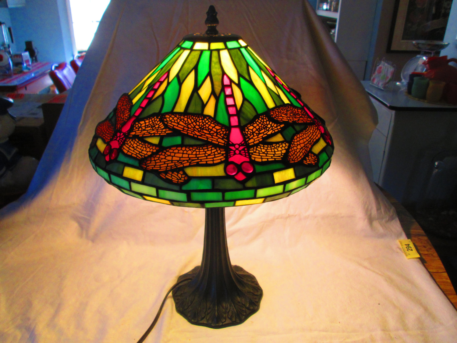 Tiffany Lampen Outlet : Tiffany lamp with dragonflies dragonfly lamp shades u tncattlelane