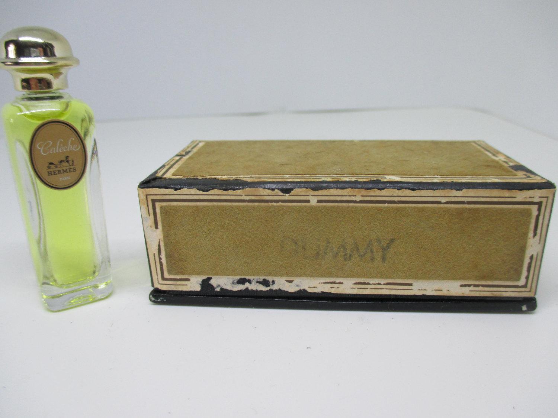 Miniature Bottle Mini France Store Hermes Box Display In 14 Dummy Factice Oz Vintage Made Parfum Caleche ikOPuXZ