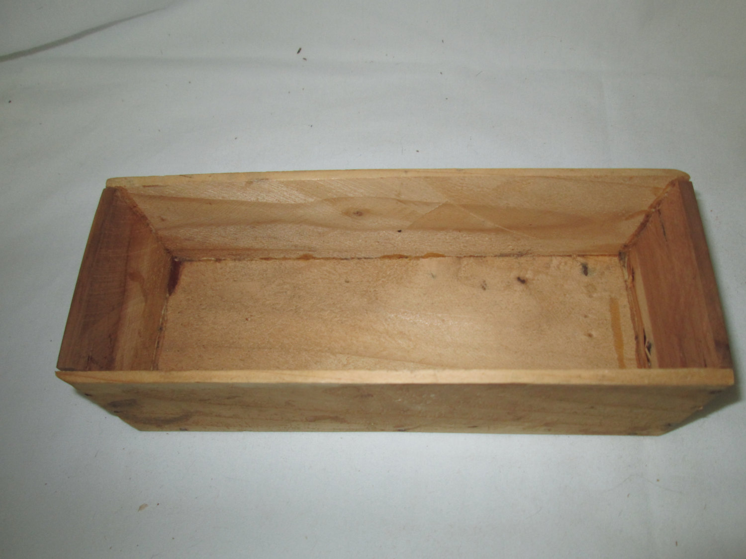 Vintage Wooden Cedar Storage box hand crafted storage box