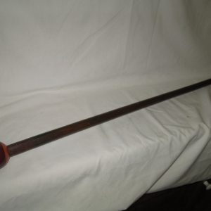 Wow What a great Idea for a Cane/Waling stick a #12 Pool Ball Pool Stick Top on a Mahogany Squareish Stick